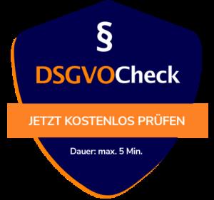 kostenloser DSGVO-Check