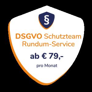 DSGVO Schutzteam Siegel